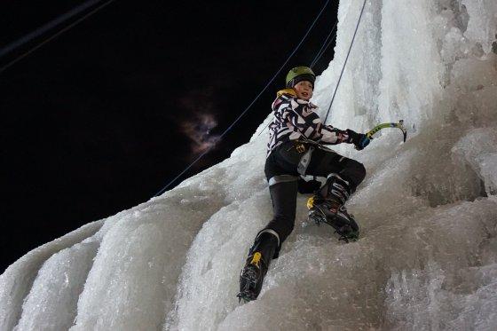 Lezení na ledu - Vír