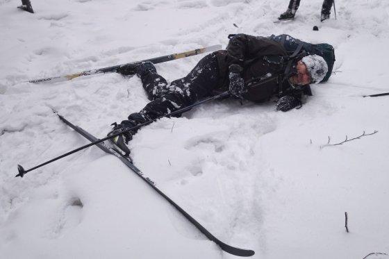 Zimní přejezd Rychlebských hor