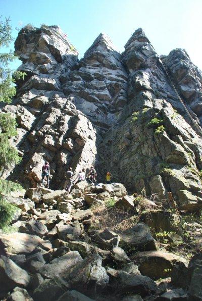 Velikonoční lezení na Vysočině