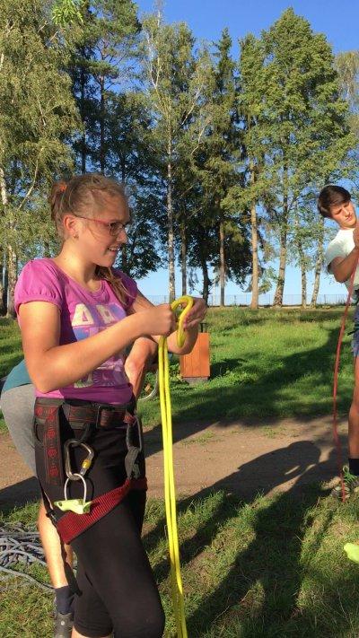 Mladí horalové trénují