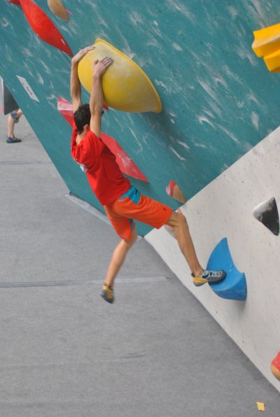 Český pohár v boulderingu, Hangar Brno