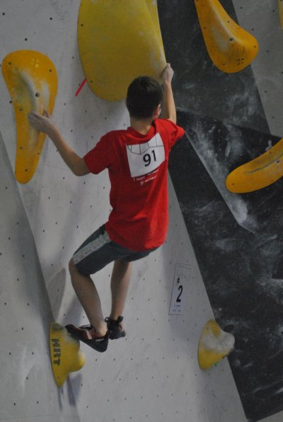 Český pohár U14 v boulderingu
